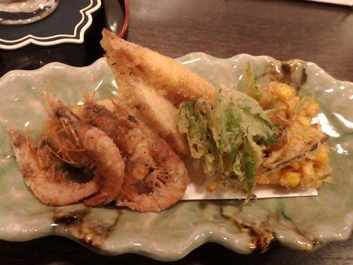 54天ぷら盛り合わせ