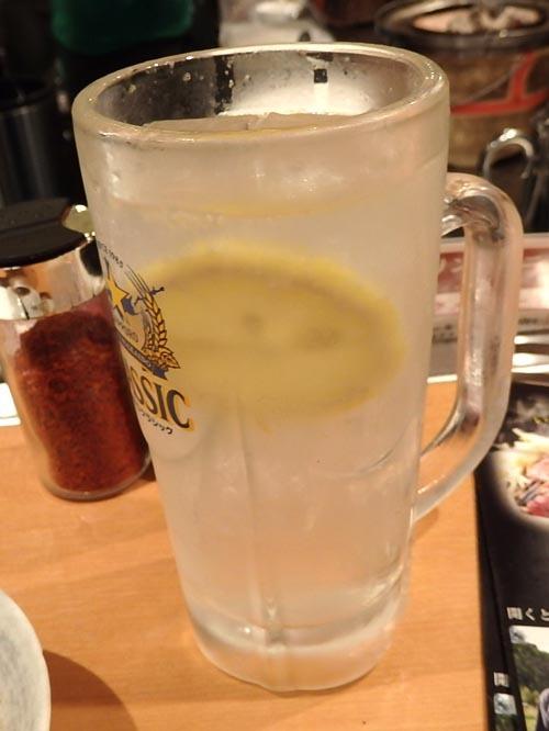 23生レモンサワー