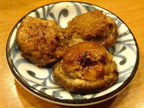 08椎茸肉詰め