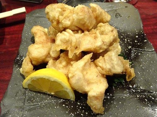 24大山鶏天ぷらからし正油仕立て