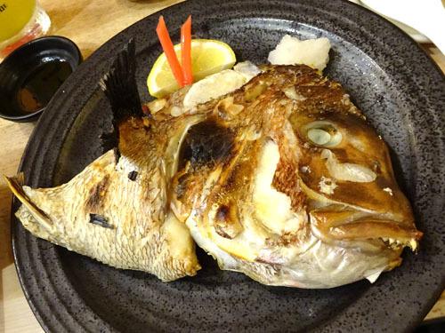 28鯛カマ焼き