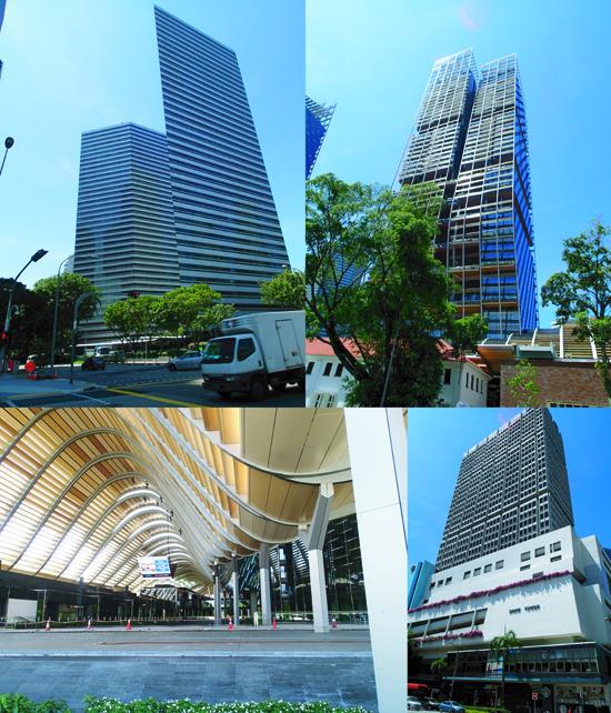 singapore bilding