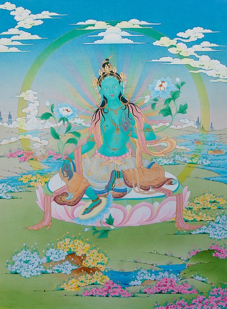 Dakini Day Green Tara Mandala Practice (1)