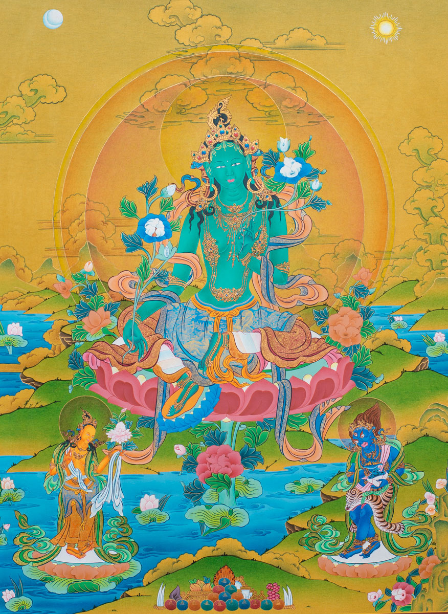 Dakini Day Green Tara Mandala Practice (2)