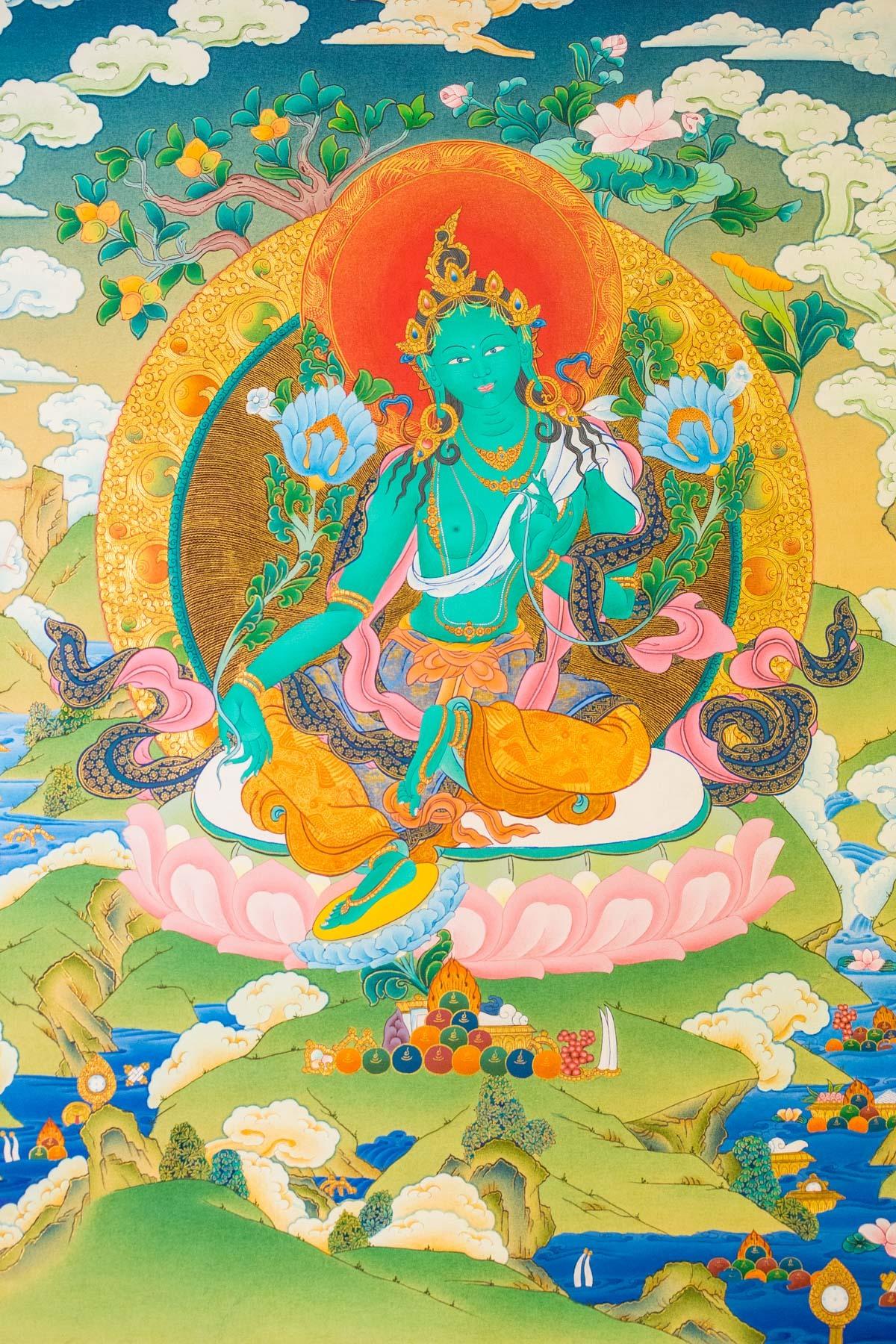 Dakini Day Green Tara Mandala Practice (3)