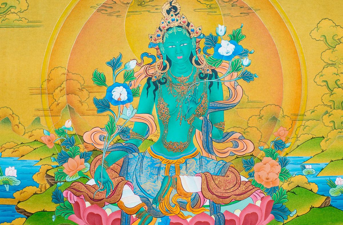 Dakini Day Green Tara Mandala Practice (5)