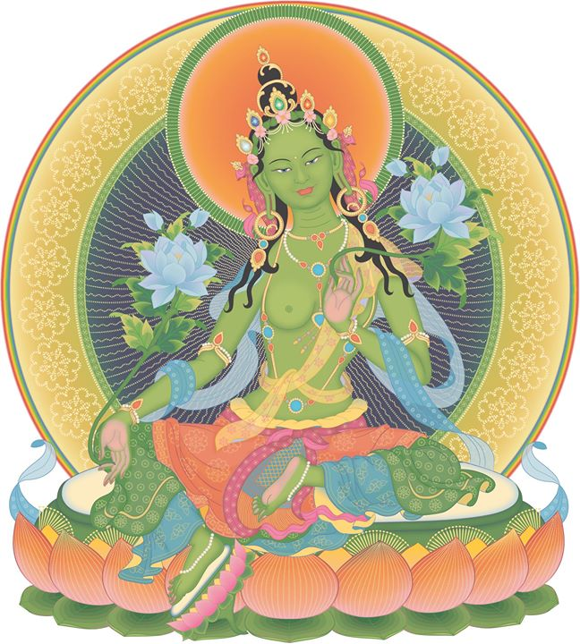 Dakini Day Green Tara Mandala Practice (6)