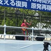 メーデー 川口真由美さん1