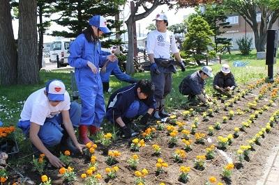 2017-06-06 紅志高校 駅前公園植栽 (28)