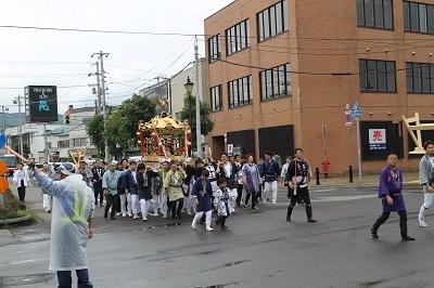 2017-06-10 余市神社祭典お神輿 (28)