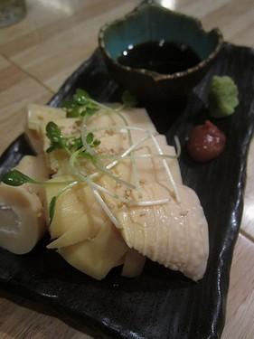 20170429べこ丸 (3)筍刺身