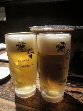 20170504雷音 (5)生ビール