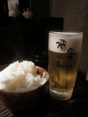 20170504雷音 (15)ライスとビール