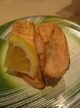 20170602 (15)サーモン炙り