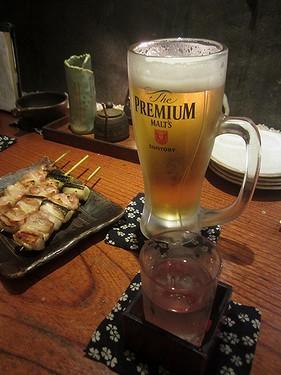 20170609串工房 (6)ビールはチェイサー