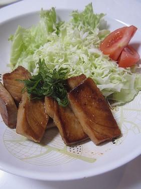 20170612 まぐろステーキ