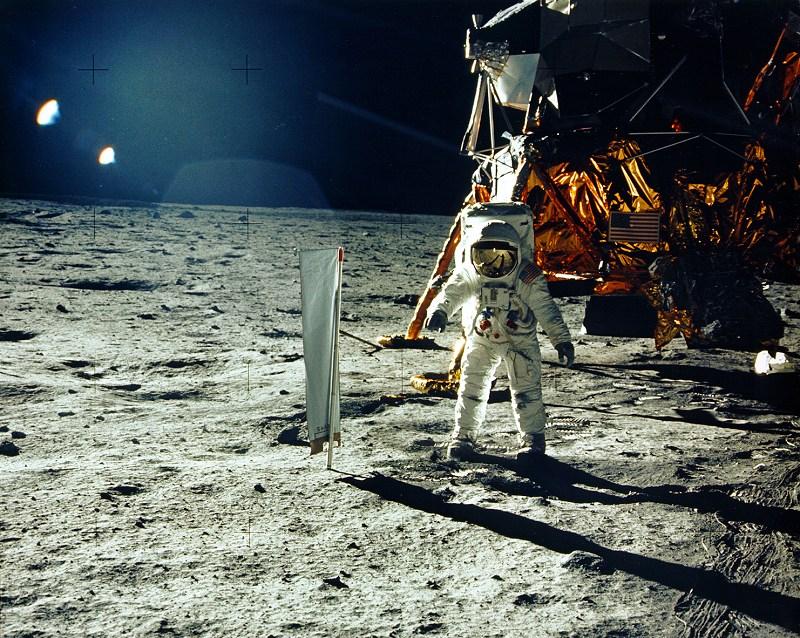 月面着陸 1969年7月 NASA提供