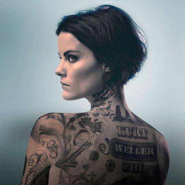 タトゥーの女