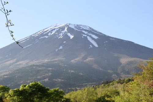 登山道から夏富士
