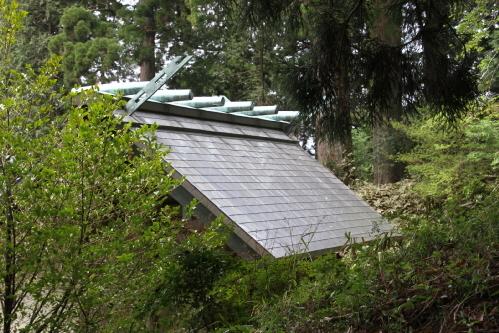 村山浅間の神殿