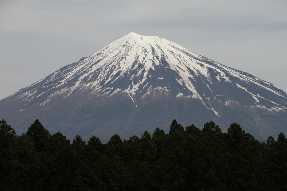 村山口登山道からの富士山