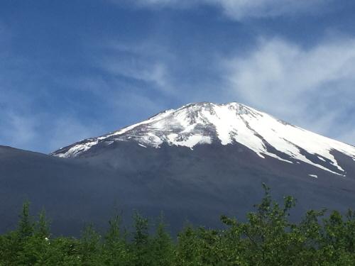 御殿場口からの富士山