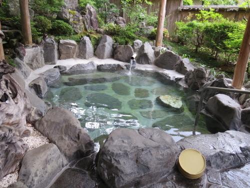 大野木荘露天風呂