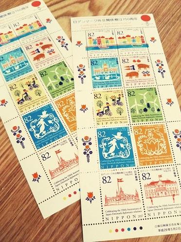 切手シート①