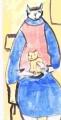 5今日の猫画 (10)