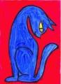 5猫猫迷画見返り美人 (1)