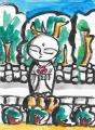 3鈴虫寺幸福地蔵 (1)