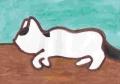 熊谷守一 猫 5(2)