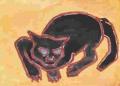 5熊谷守一の猫ニャーン (5)