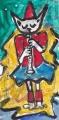 4猫は音楽家クラリネット奏者