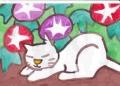 4熊谷守一の猫ニャーン (3)