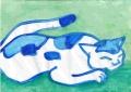 5熊谷守一猫画 (2)