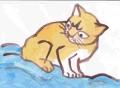 5熊谷守一 猫 (5)