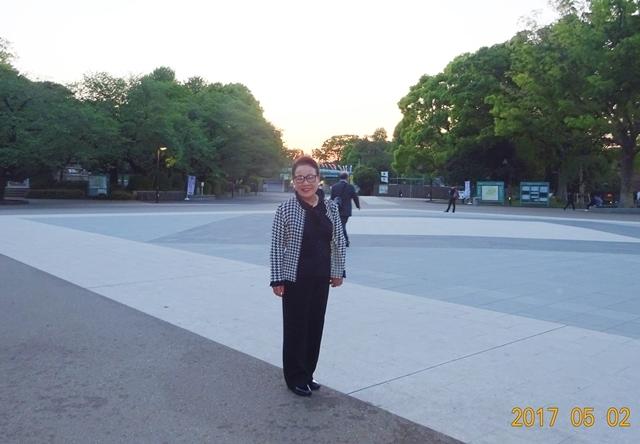 DSC08659上野動物園を後ろにして