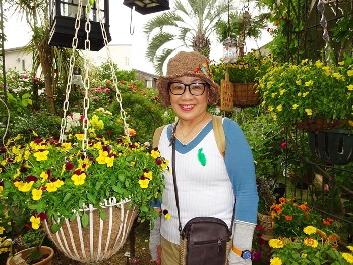DSC08861美女と庭園