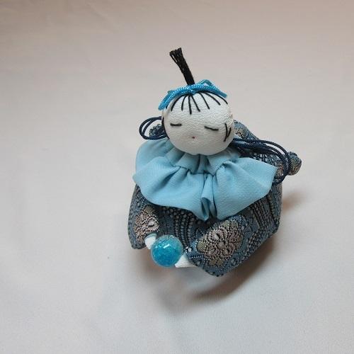 手芸●座り人形袋[つるし雛の細工物] (1)