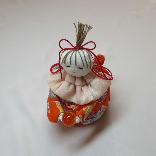 手芸●座り人形袋[つるし雛の細工物] (2)