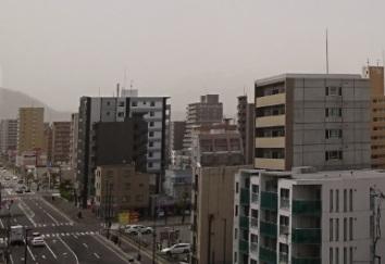20170507札幌の黄砂