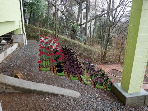 裏庭花壇3