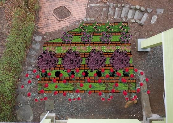 裏庭花壇4