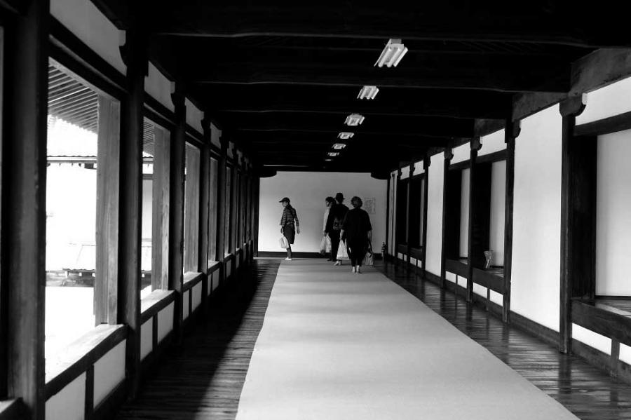 東本願寺廊下