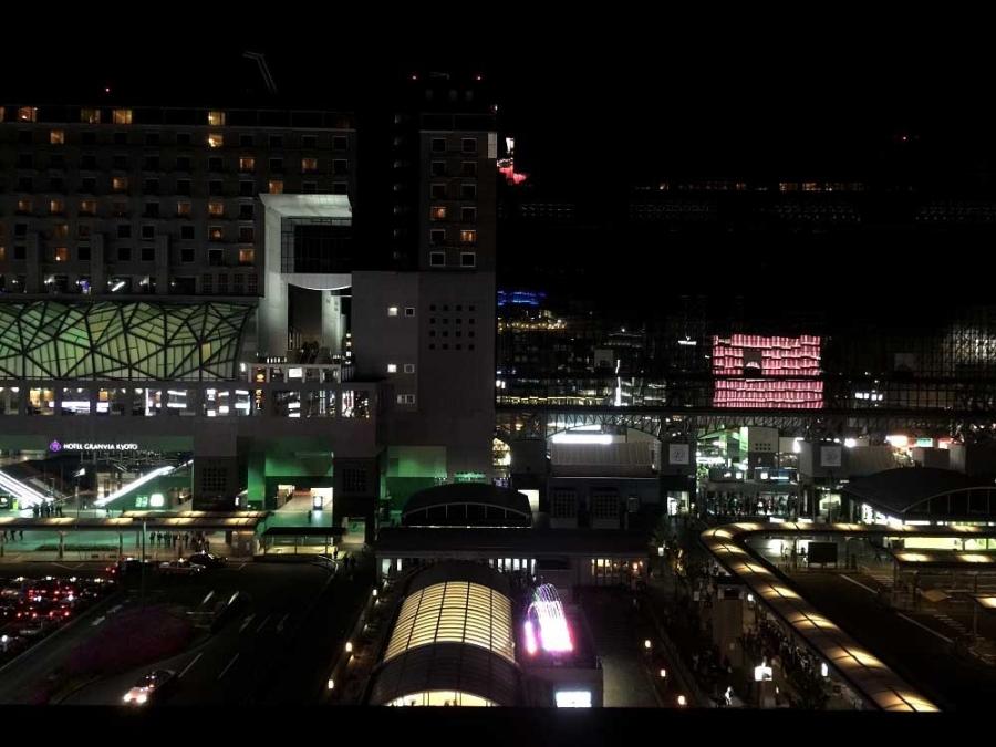 京都駅20l7春