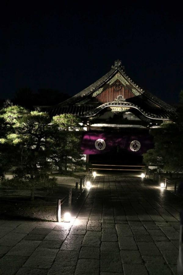 西本願寺夜景
