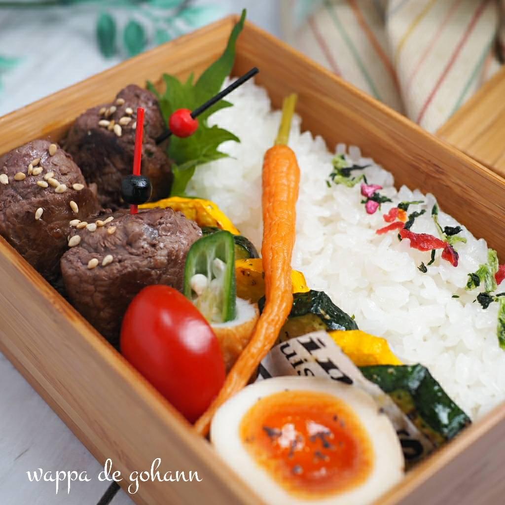 今日の竹弁当
