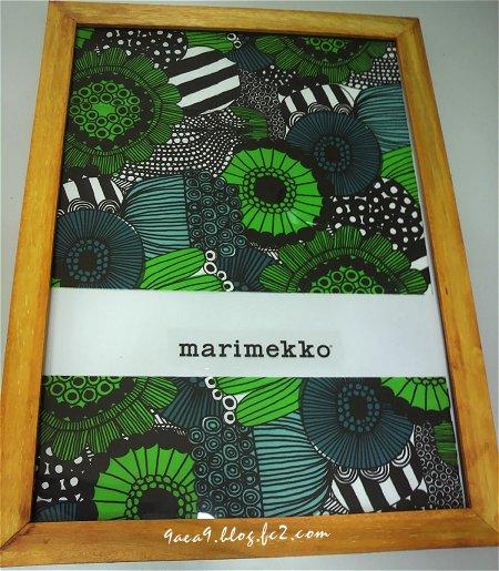 1枚50円の正規marimekko製品でも素敵なアートパネルはできる 1