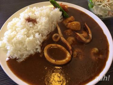 直島カレー!美味しゅうございました!